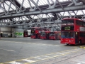 A South London bus garage