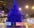 Christmas Tree at Vauxhall Underground Station