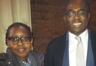 Meeting MP David Lammy