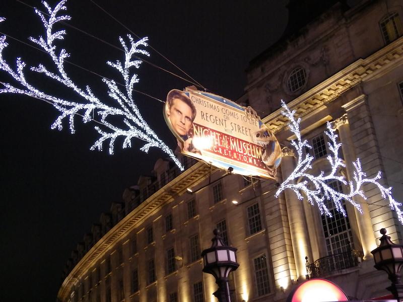 Christmas light in Regents Street