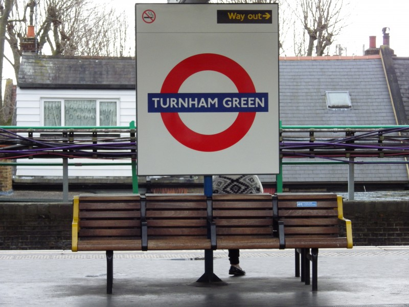Why travelling on the Underground can save your life - Turnham Green Tube Station