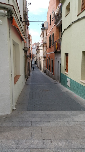 A Street in LIoret de  Mar