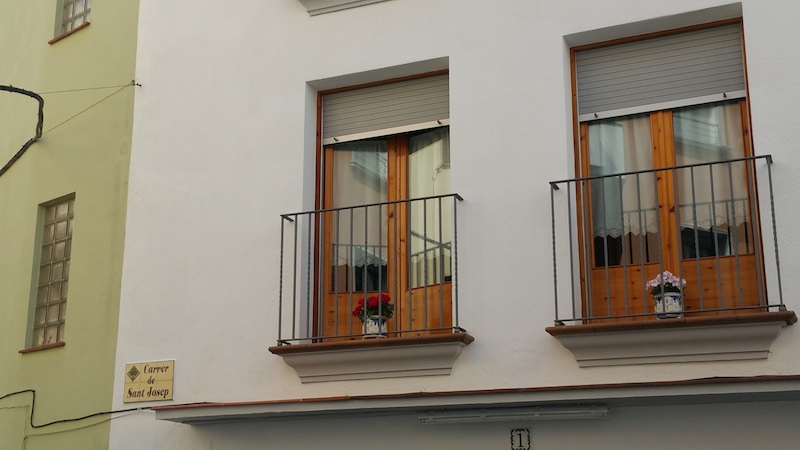 Windows in LIoret de Mar