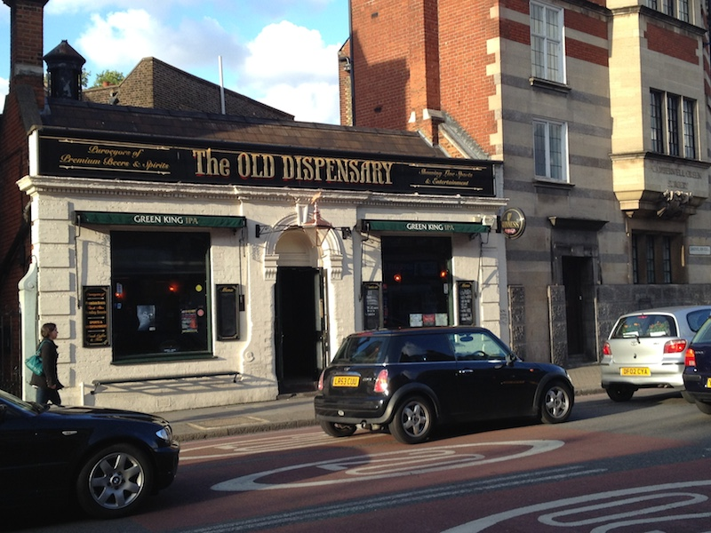 The Old Dispensary: One way to relax at the weekend