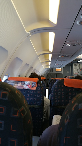 Aboard Easyjet