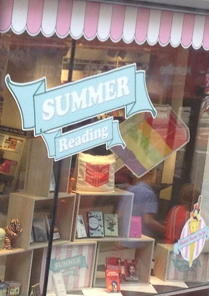 Reasons why you should have a summer holiday Foyles bookshop