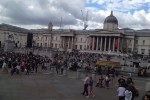 Reasons why you should have a summer holiday Trafalgar square and The National gallery