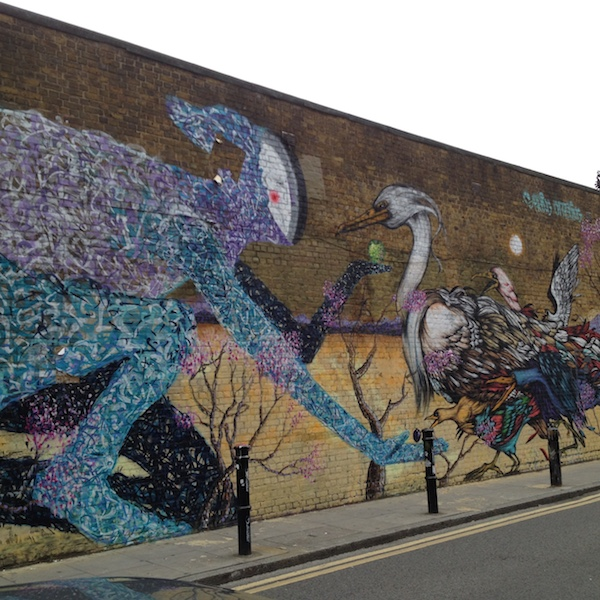 How to discover Street Art in East London