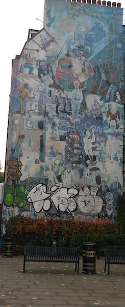 Street Art in Fitzrovia