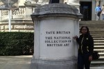 Outside Tate Britain