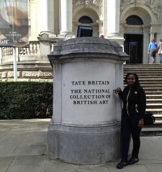 Outside Tate Britain - Reasons why you should take a day off to visit Tate Britain Part 1