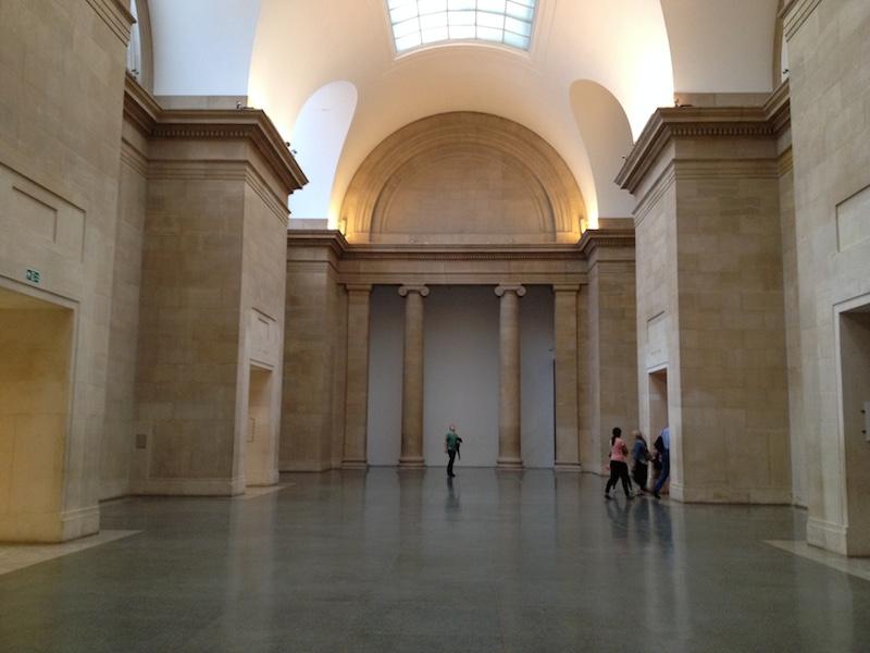 Inside Tate Britain