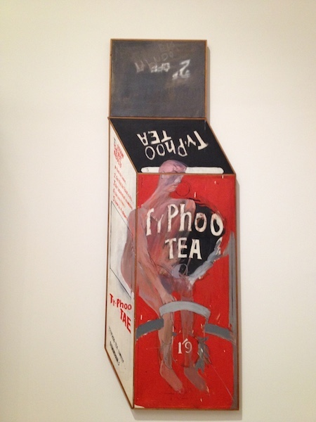 Tate Britain Typhoo Tea packaging sculpture