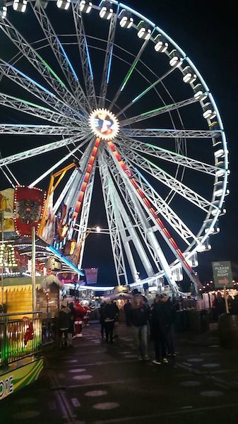 Winter Wonderland 2015 Ferris wheel