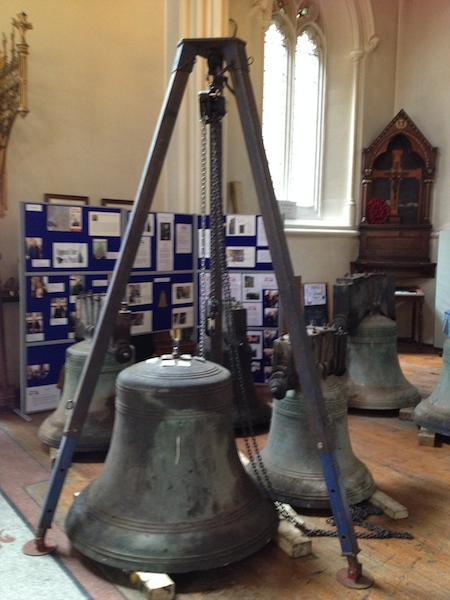 Dismounted Church bells
