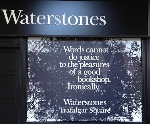 Waterstones Trafalgar Square