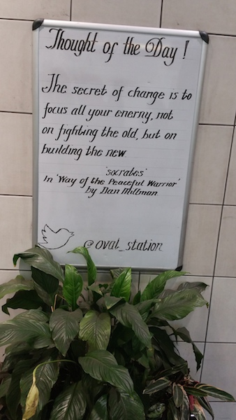 Clever quotes that will help you travel on the Tube