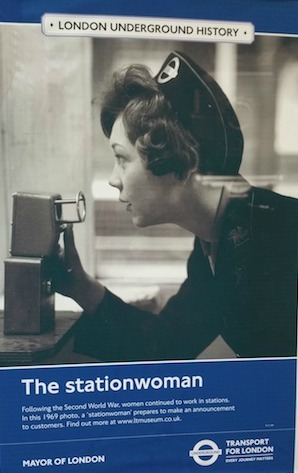 The stationwoman