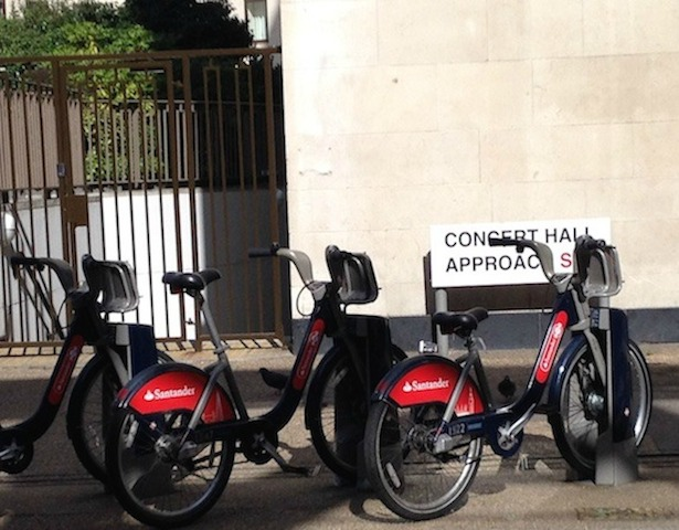 The day I shared a hire bike in London on the cheap