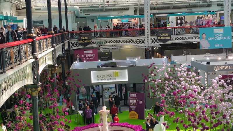 How to make a day out of the Ideal Home Show Ground Floor