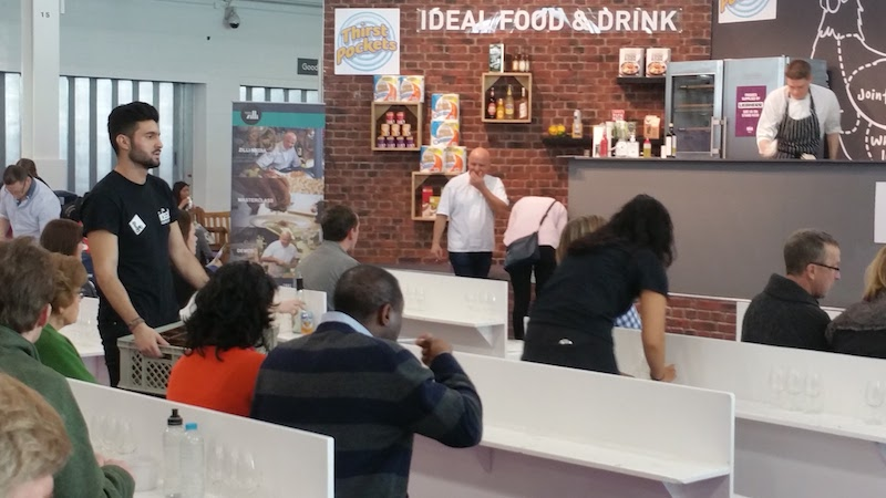 How to make a day out of the Ideal Home Show Food tasting with Aldo Zilli