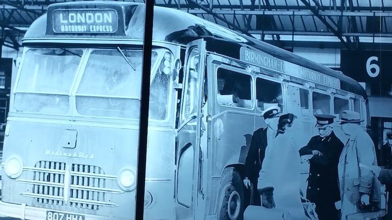 Vintage Victoria Coach station