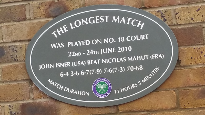 The longest match played