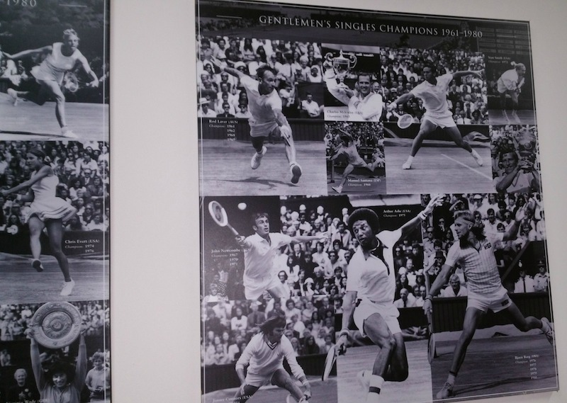 Pictures of Arthur Ashe, Boris Becker and many more