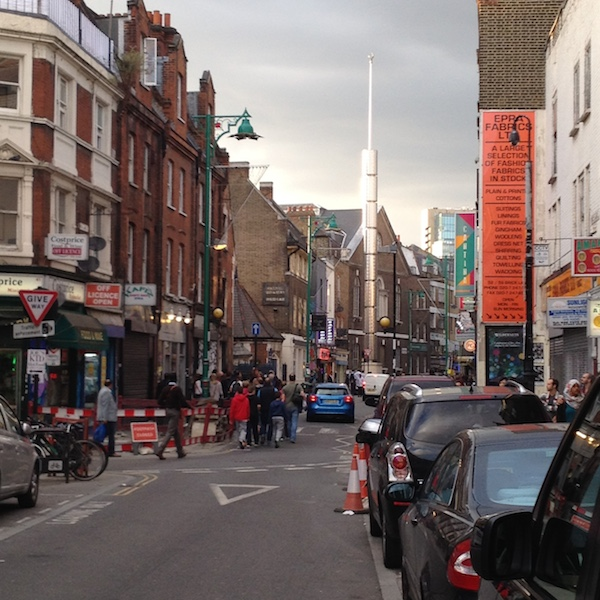 Entrance to Brick lane