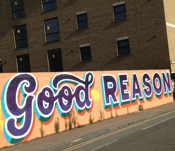 Good reason street art