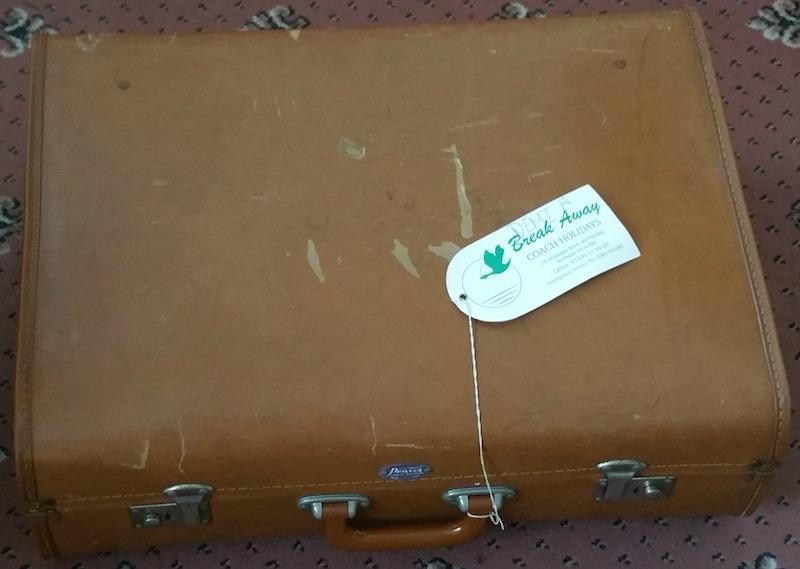 My vintage suitcase