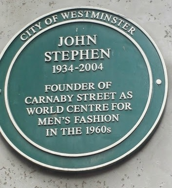 A plaque about John Stephen