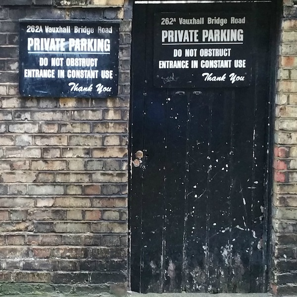 Personalised Private Parking Signs