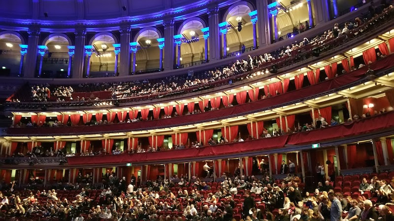 The year in review 2016 was at last a living dream for Door 12 royal albert hall