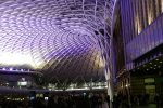 Inside Kings Cross St Pancras mainline Station