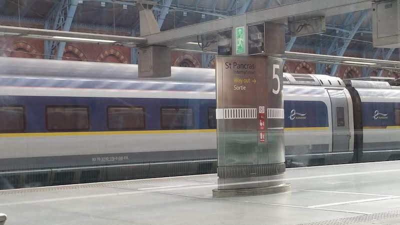 The Best Way To Travel Around St Pancras International Station