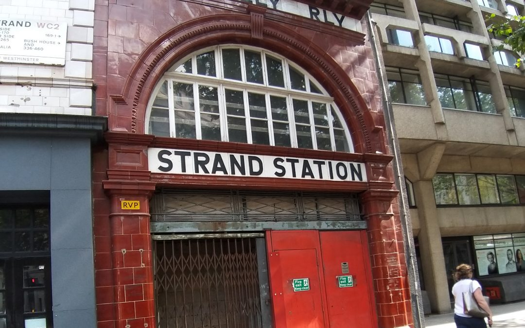 An Abandoned And Disused Underground Station