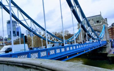 Exploring Tower Bridge At The End Of Monday