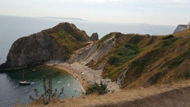Durdle Door and Man O War bay