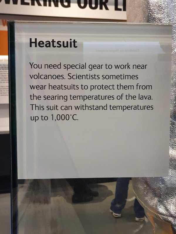 Facts about the Heatsuit