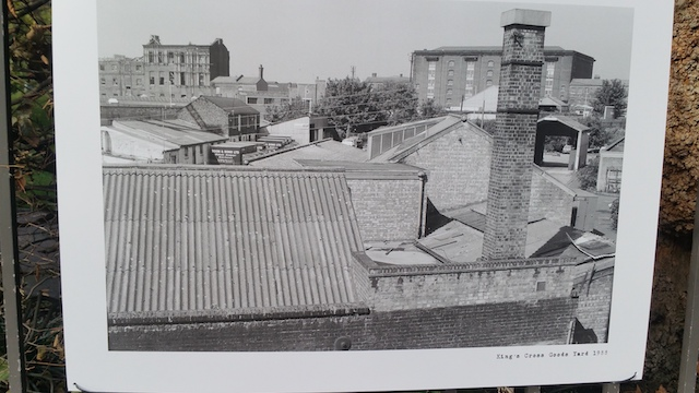 King's Cross Goods Yard 1988