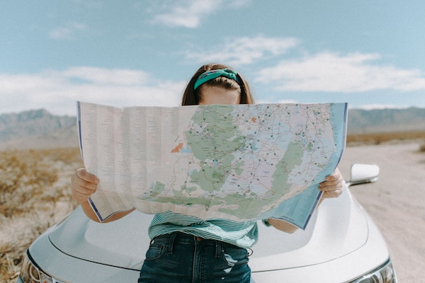 A map. The Travel EssentialsA map. Needed For A Road Trip